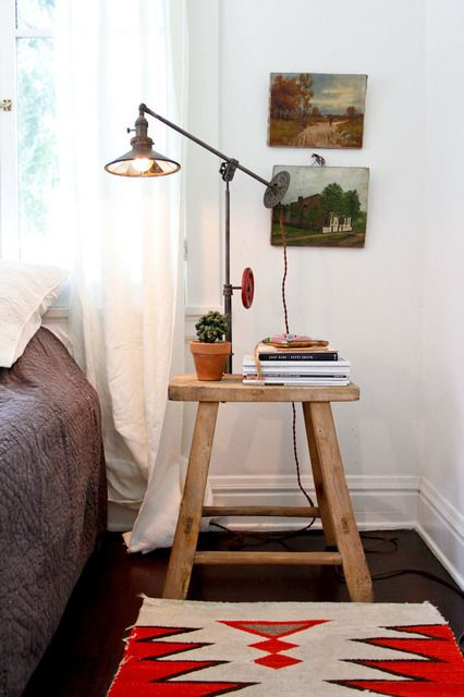 Stool Nightstand