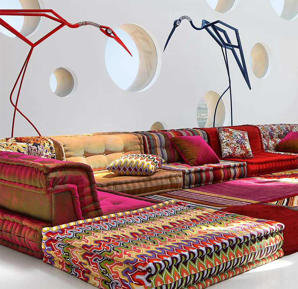 Designer couch bunt  Top 10 Places for Design Inspirations in NYC - FROY BLOG