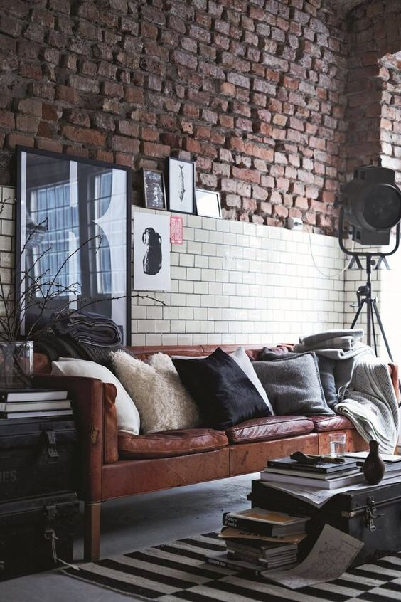 pictures industrial astounding chic living room decor | Interior Design Styles: 8 Popular Types Explained - Lazy Loft