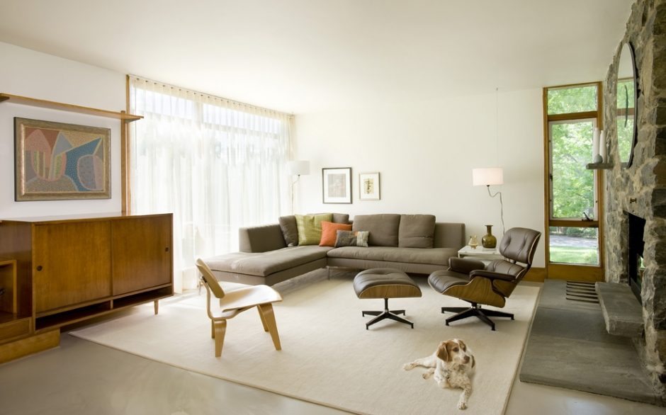 mid century modern living room. Interior Design Ideas. Home Design Ideas