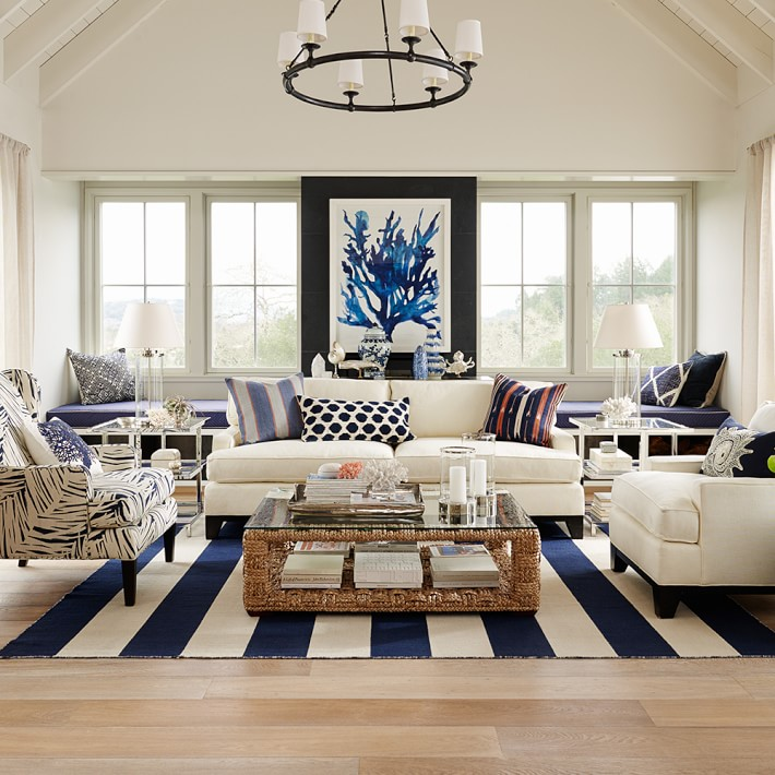 ... Nautical Decor Living Room ...