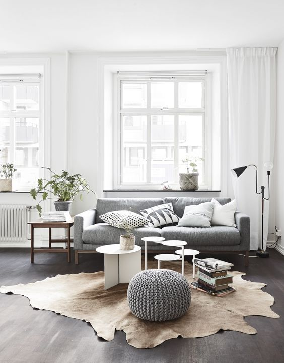 ... Scandinavian Living Room ...