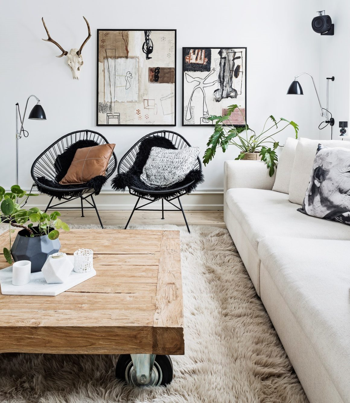 8 Clever Small Living Room Ideas With Scandi Style: Interior Design Styles: 8 Popular Types Explained