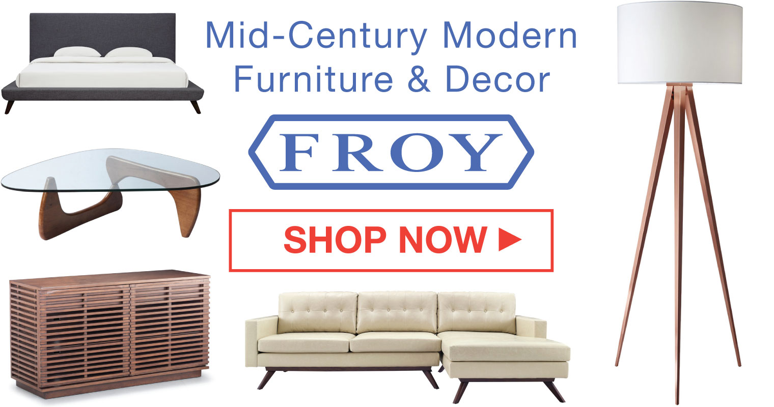 Mid-Century Modern Design & Decorating Guide - Lazy Loft by FROY