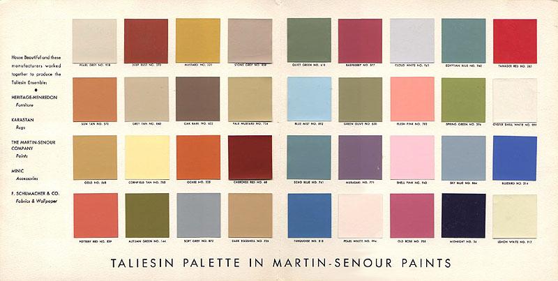 Mid Century Color Palette Big