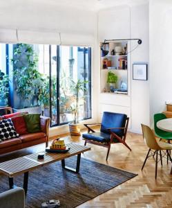 mid century modern interior design lazy loft blog by froy