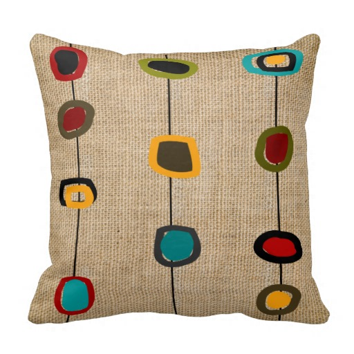 Mid Century Modern Pillow Part 64