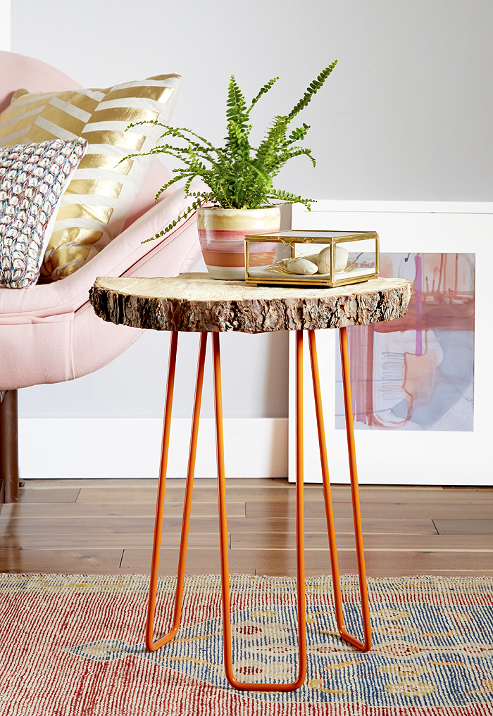 Diy end table ideas top 5 easy and cheap projects froy blog for Cheap hairpin legs