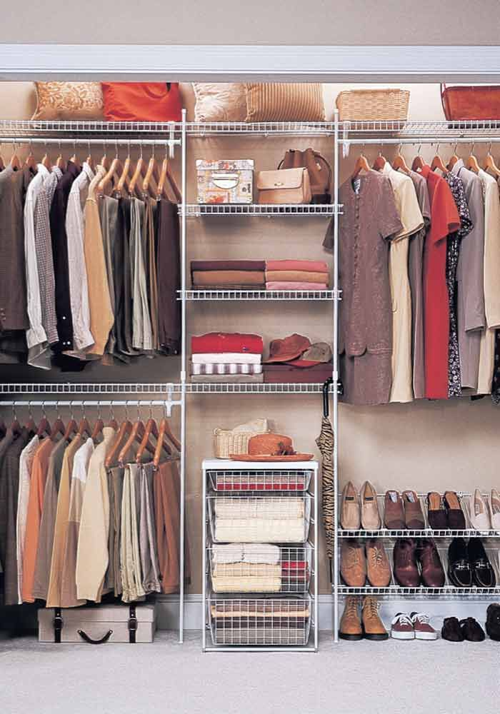 organized wardrobe - How To Make Your Room Organized