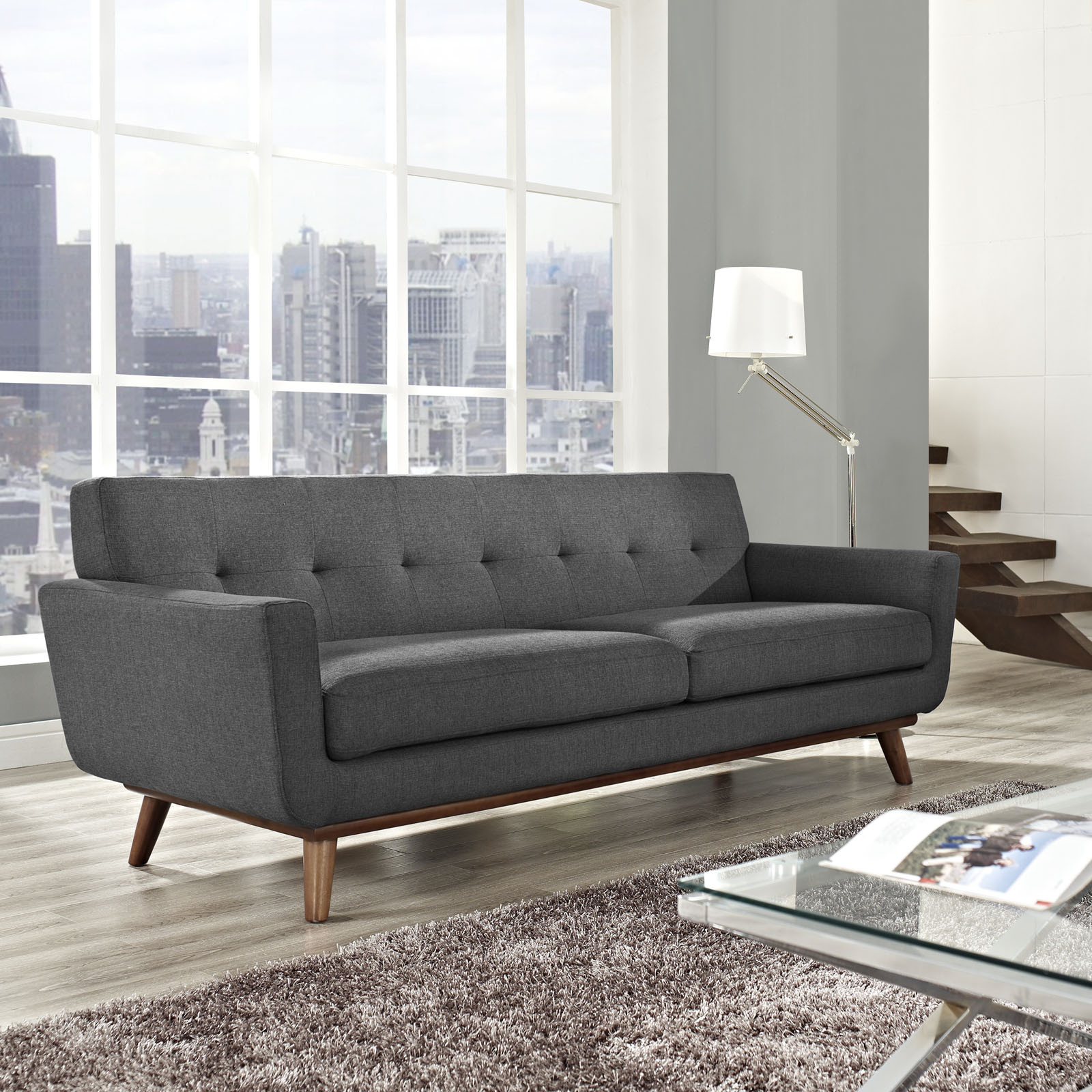 Mid Century Modern Sofas: 5 Couch Styles For Your Living Room From Boho To Industrial