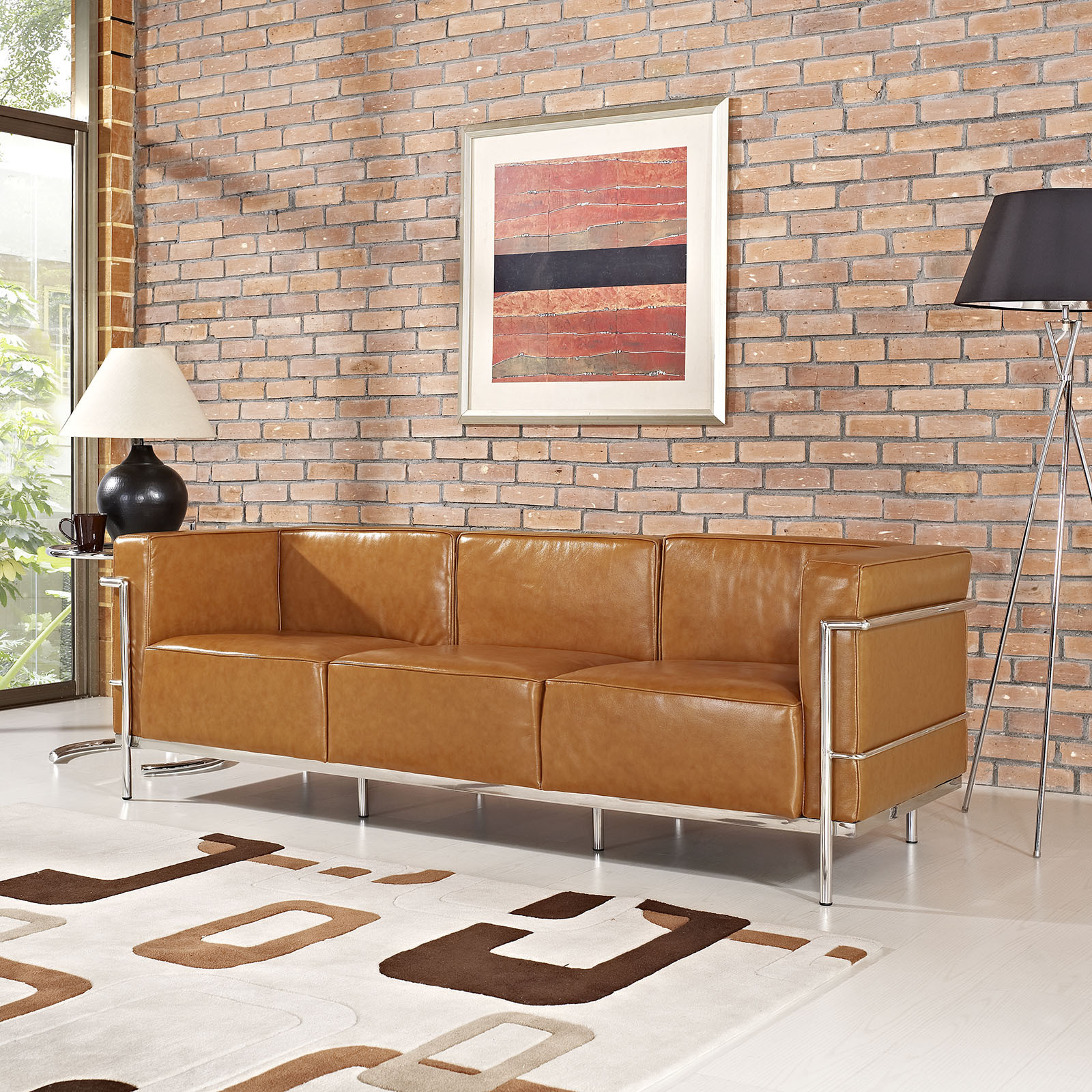 5 couch styles for your living room from boho to industrial for Industrial couch