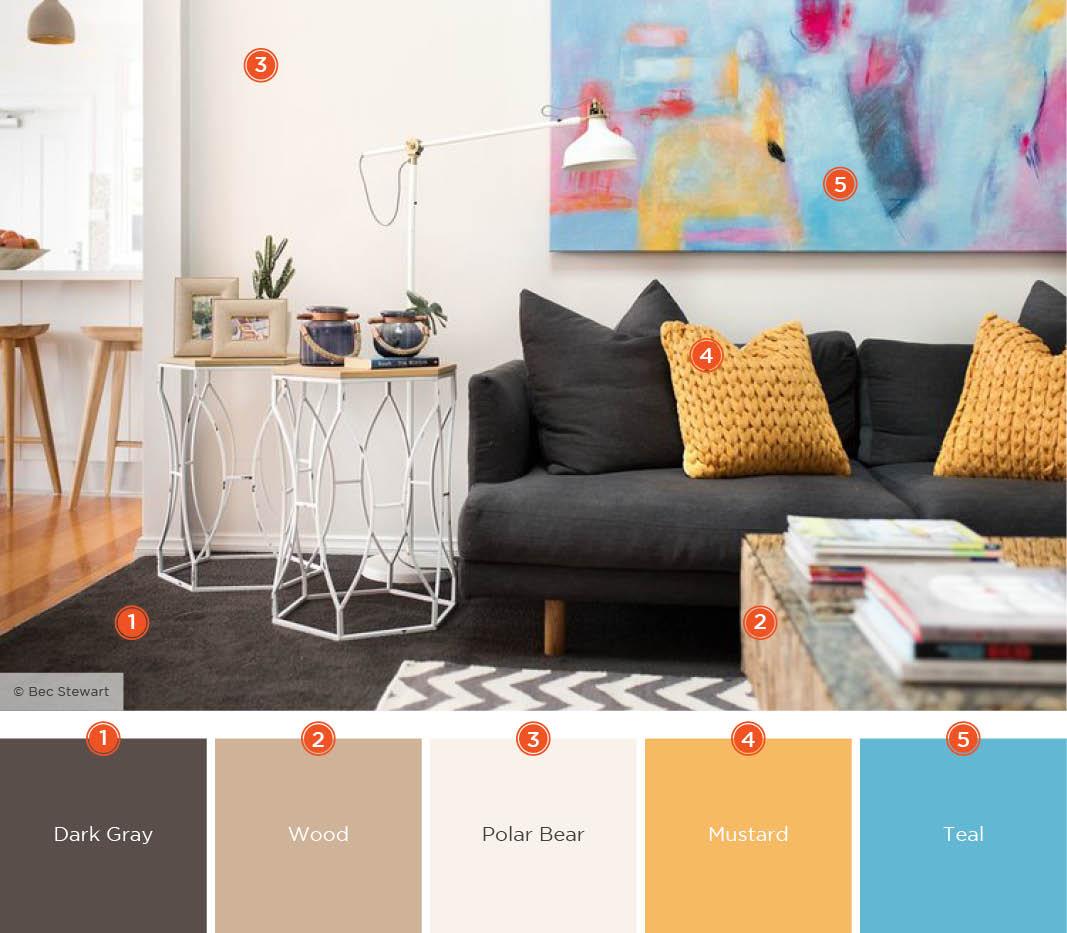 Color Palette 4 - Lazy Loft