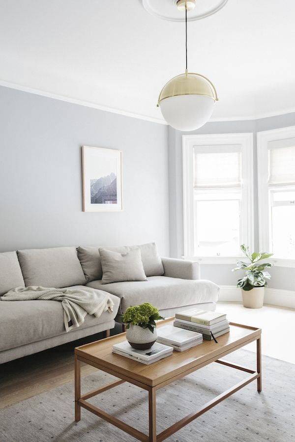 small apartment decorating ideas - muted color palette